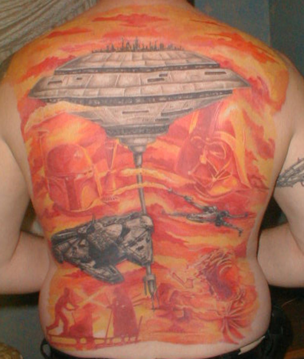 Bespin Mining Colony tattoo