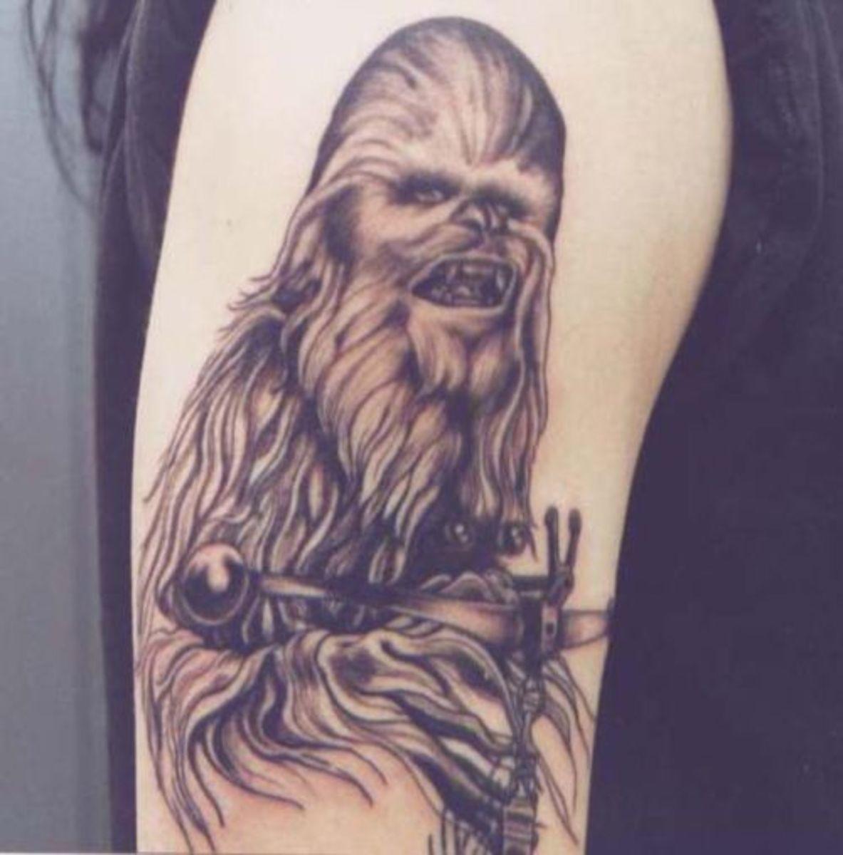 Chewbacca tattoo