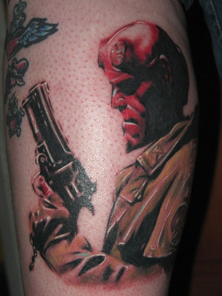 Hellboy Tattoos