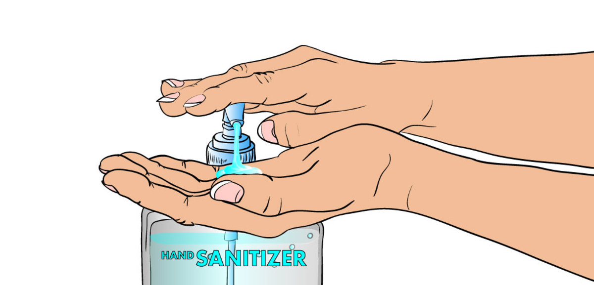 Do sanitize your hands regularly after getting your navel pierced.