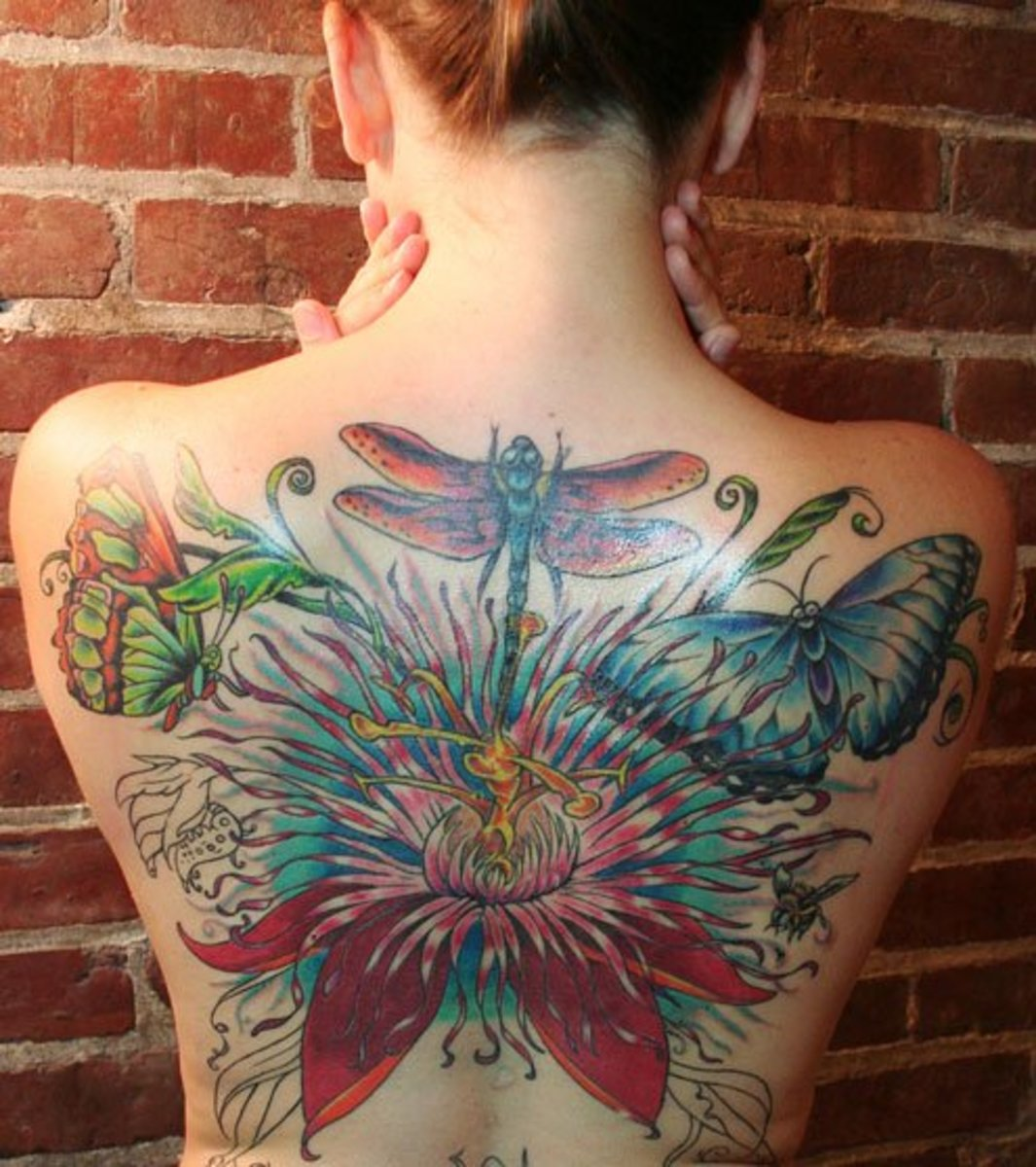 Butterfly Tattoos Becoming the Rage