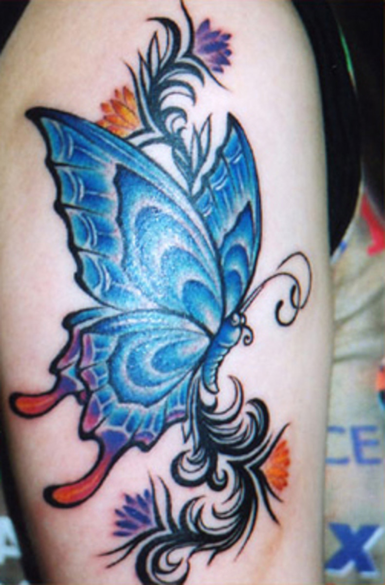 1225382 f520 The blue tattoo meaning