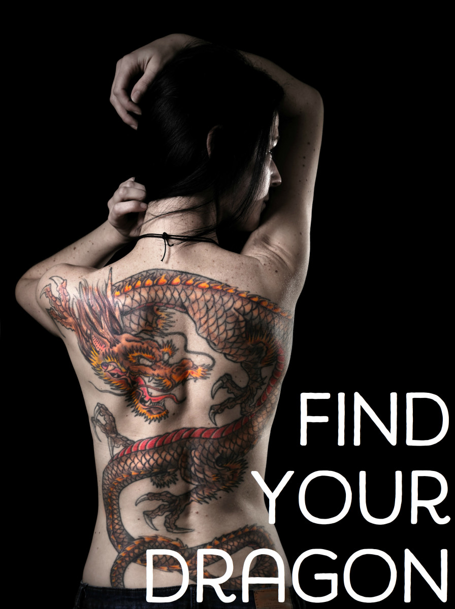 Examples of Popular Dragon Tattoo Designs and Placements