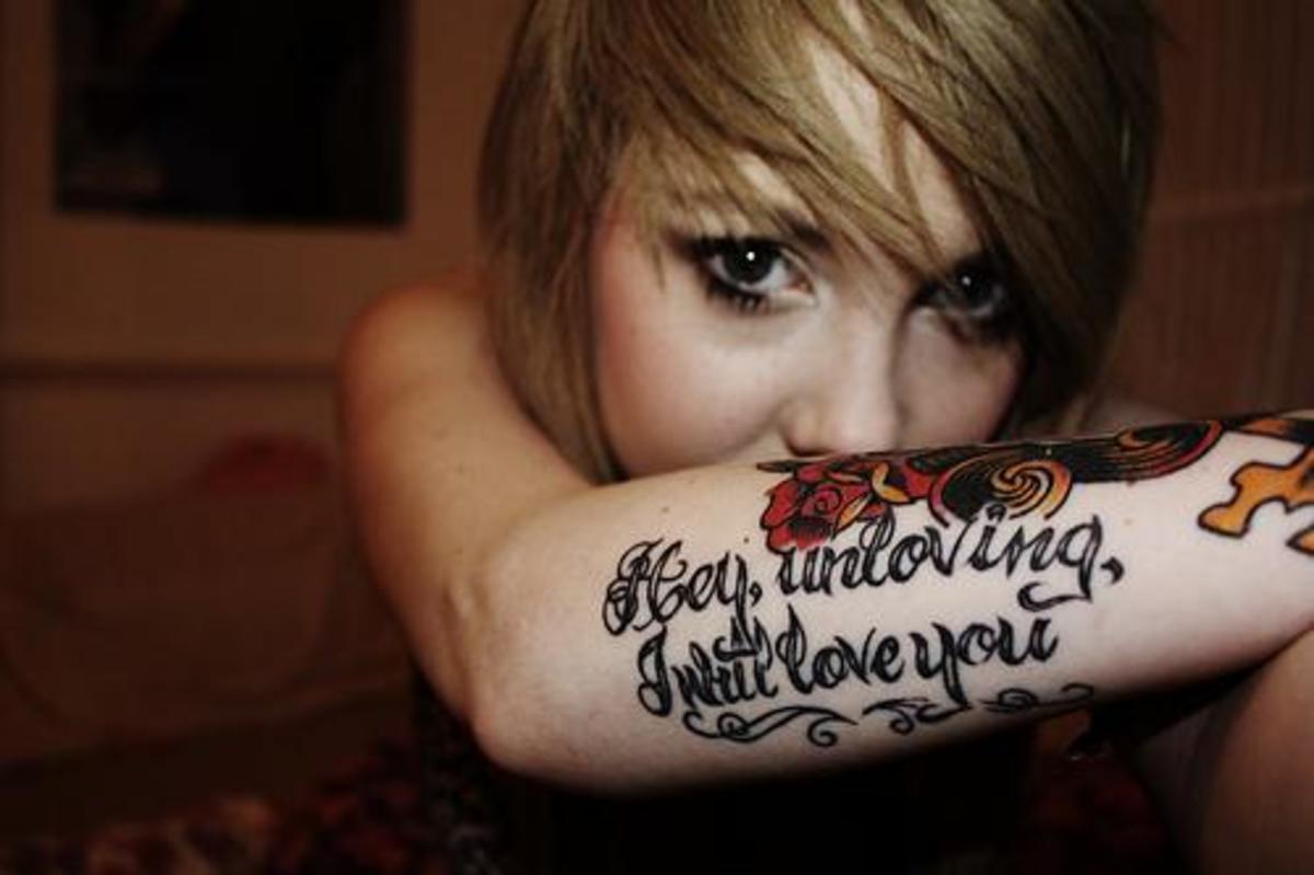 idei-dlya-tatuirovok - Идеи татуировки: Лирика о любви -  - фото