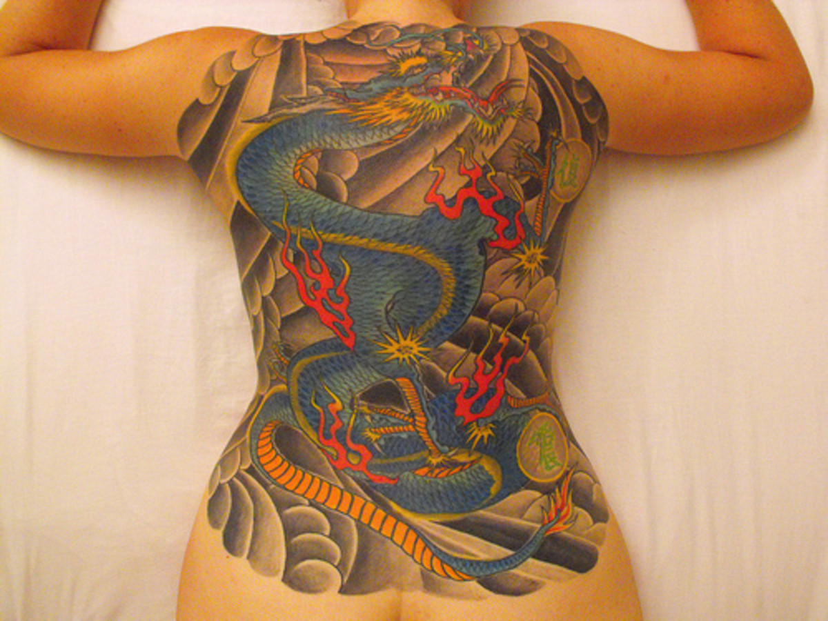 Tattoo Ideas: Japanese Tattoos