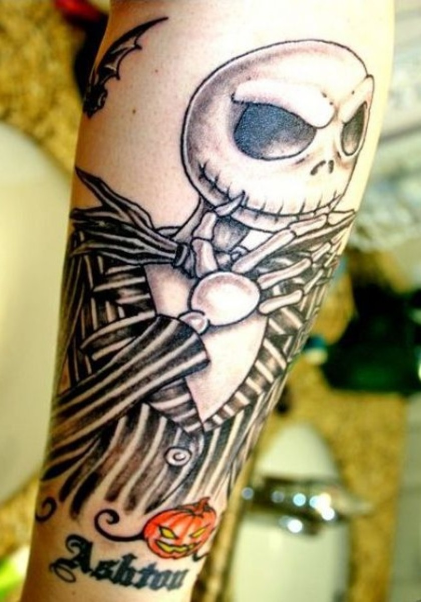 Tattoo Ideas: Tim Burton