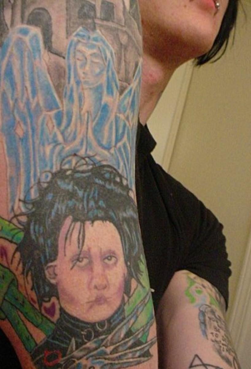 idei-dlya-tatuirovok - Татуировка Идеи: Тим Бертон -  - фото