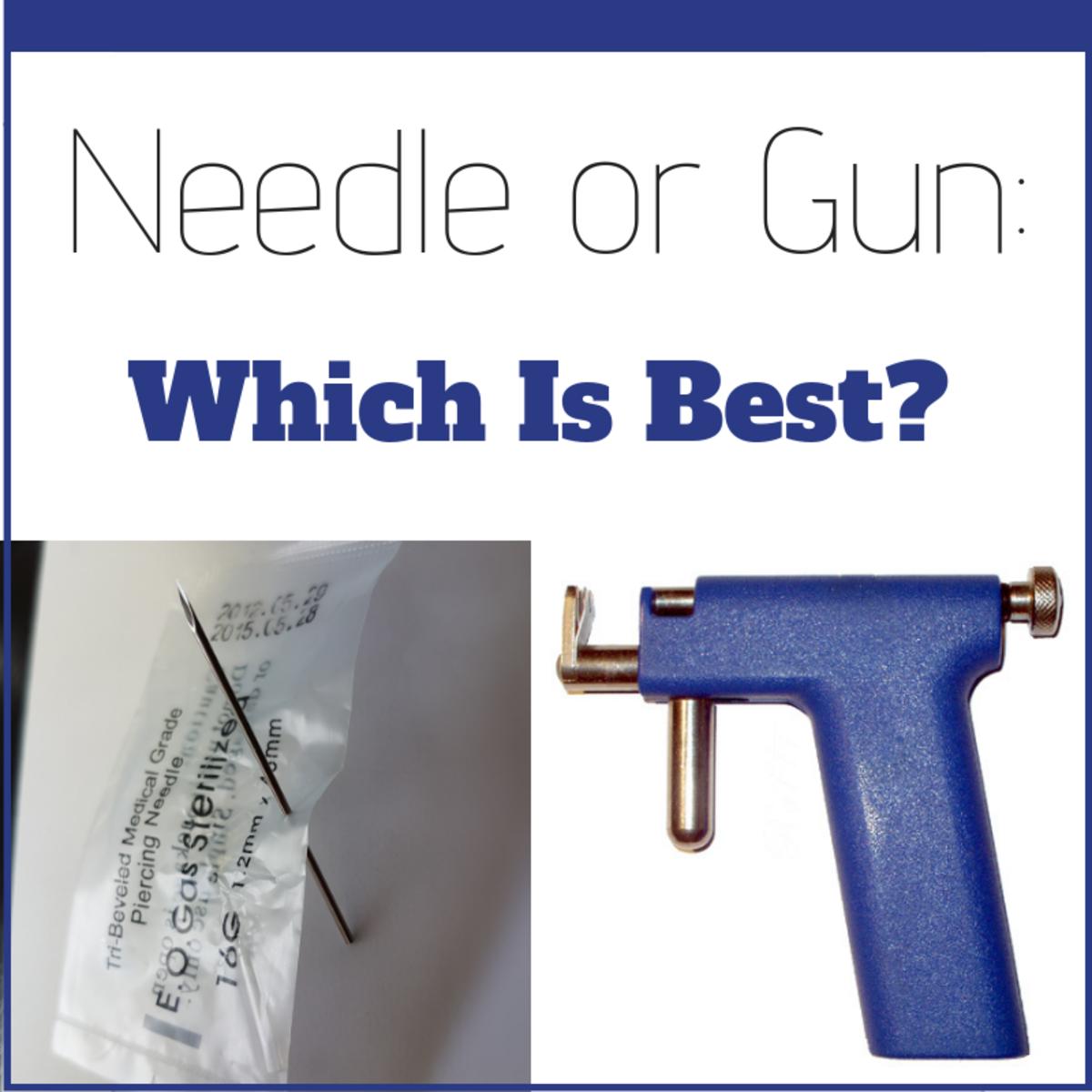 Piercing Needles vs Piercing Gun: Which Is Safer?