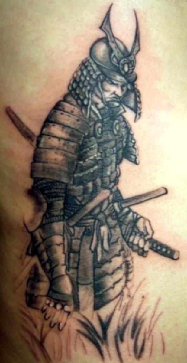 samurai warrior tattoos. Black Bedroom Furniture Sets. Home Design Ideas