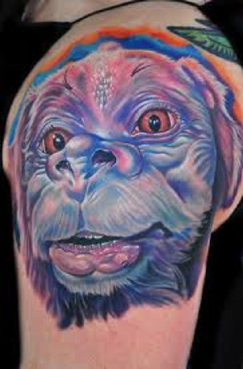 Falkor Tattoo