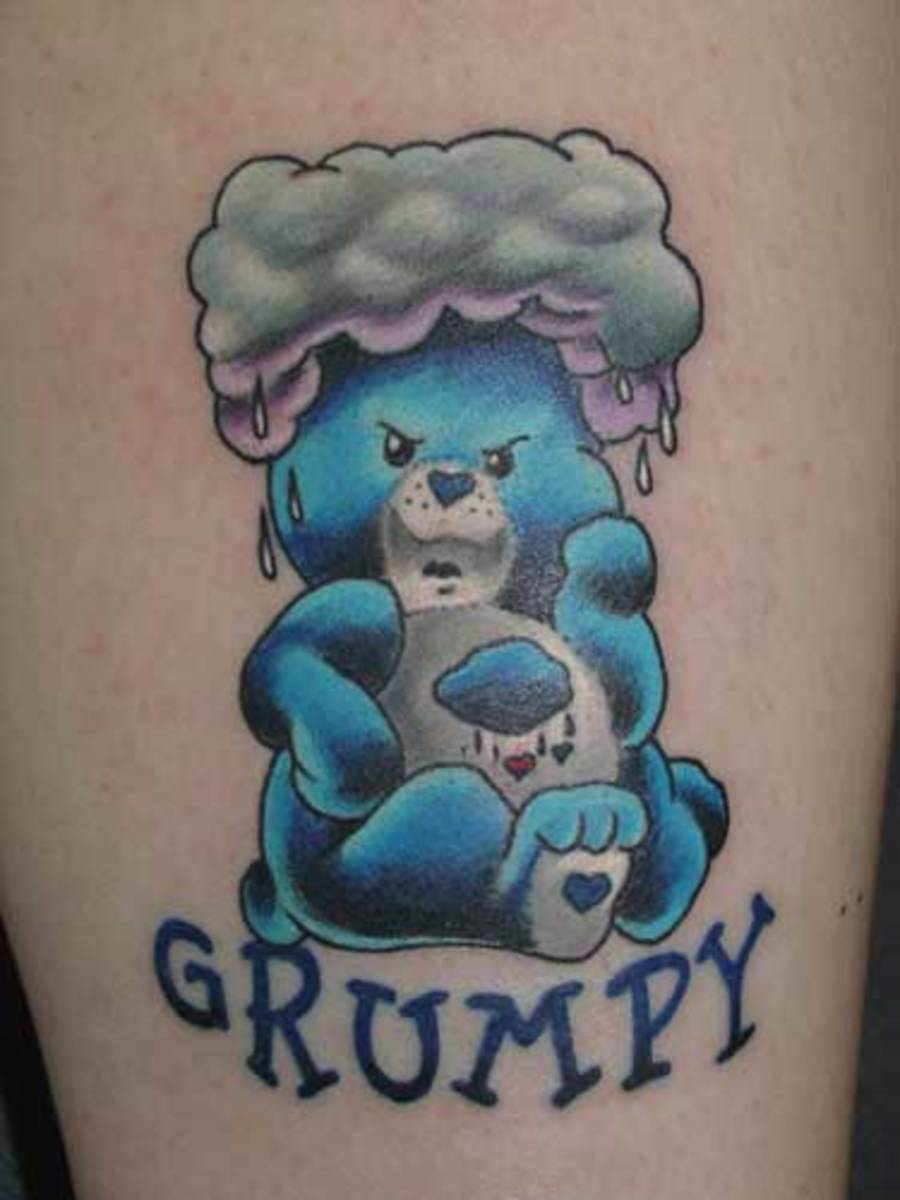 Care Bears - Grumpy