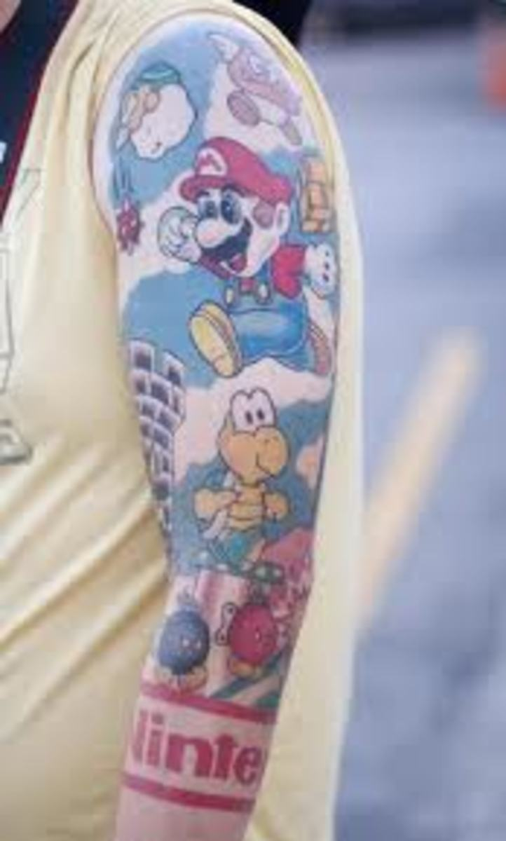 Super Mario Bros. sleeve