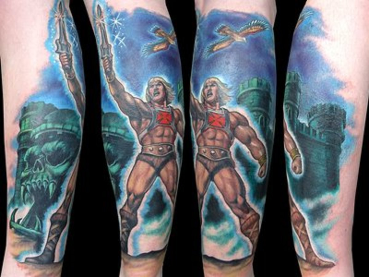 He-Man sleeve