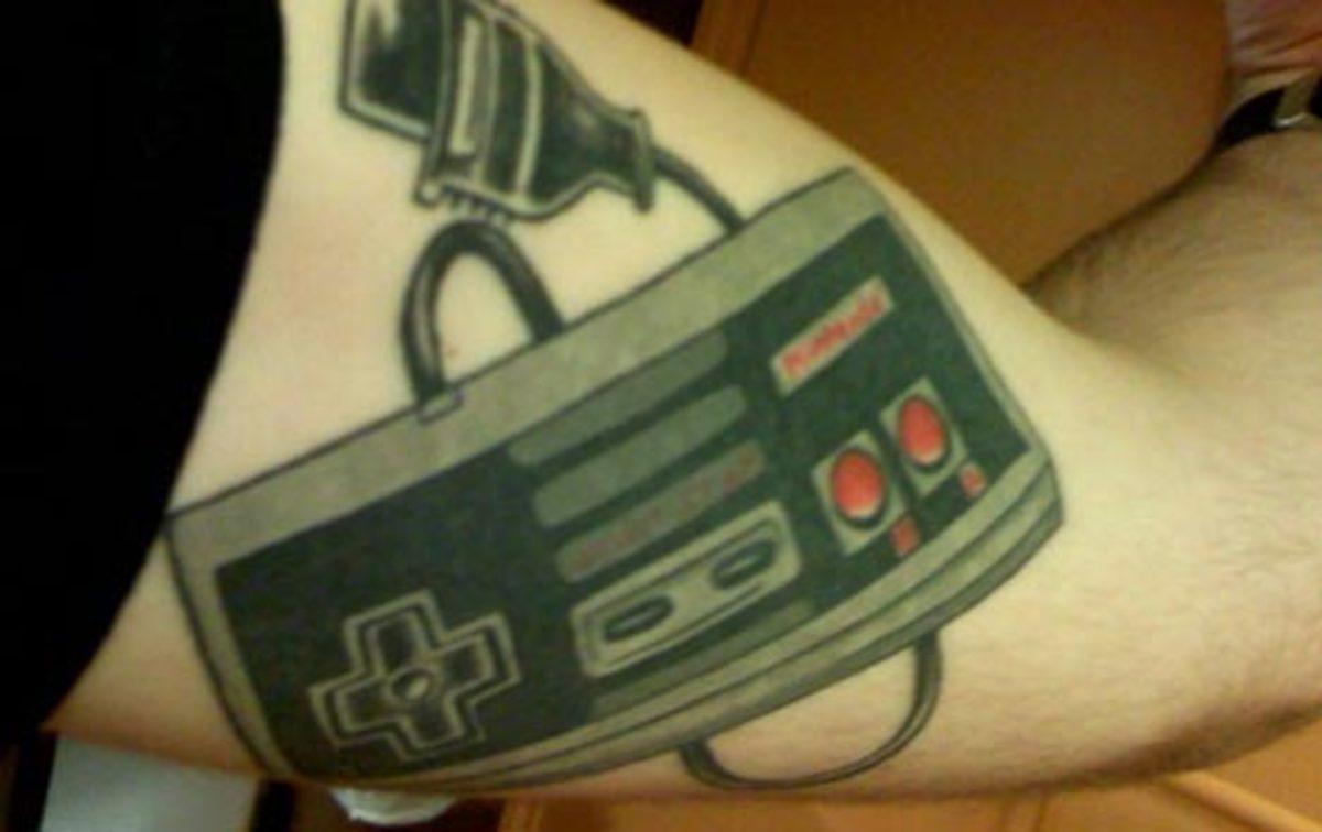 Classic NES game controller