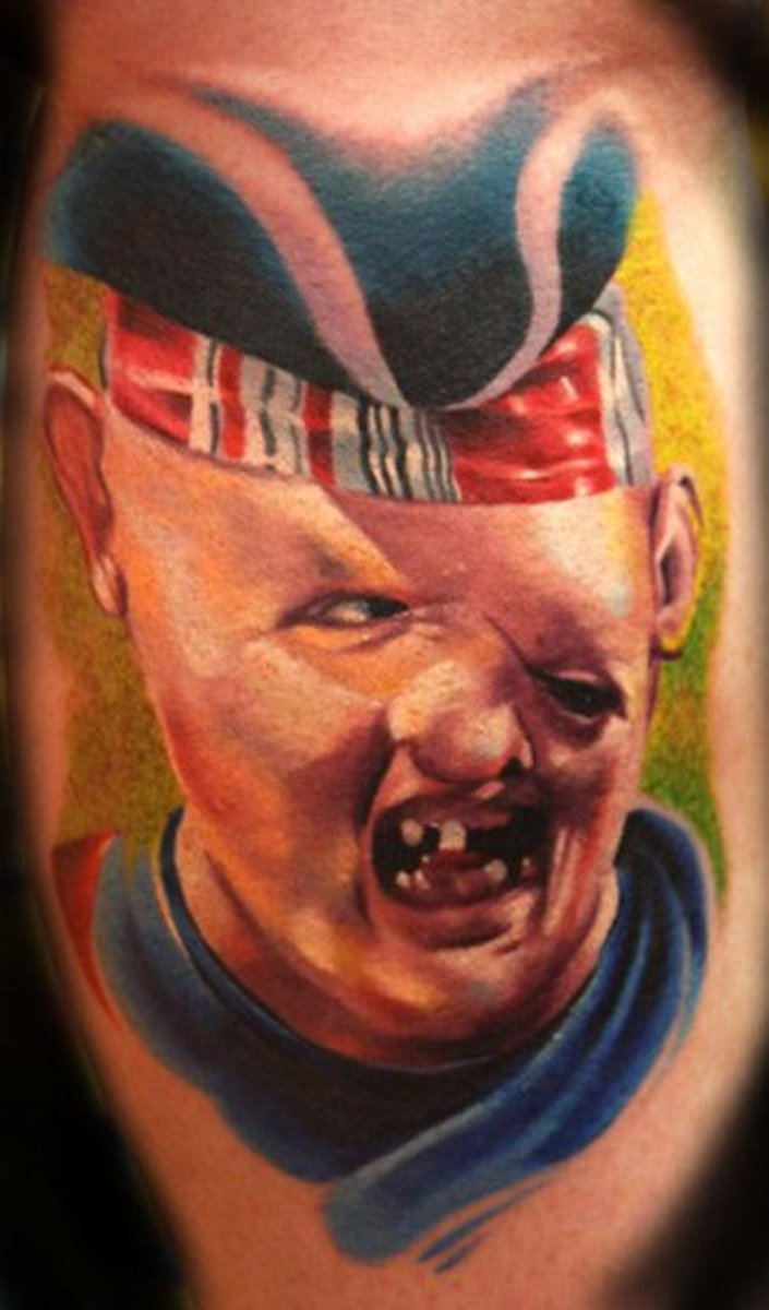 "Sloth from ""Goonies"""