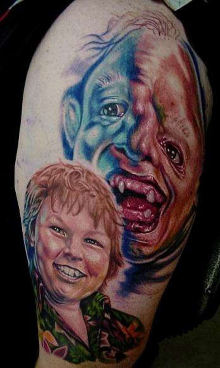 "Chunk and Sloth from ""Goonies"""