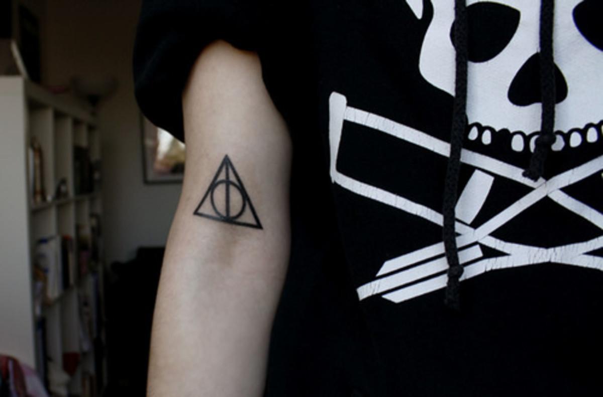 idei-dlya-tatuirovok - Идеи татуировок из Гарри Поттера -  - фото