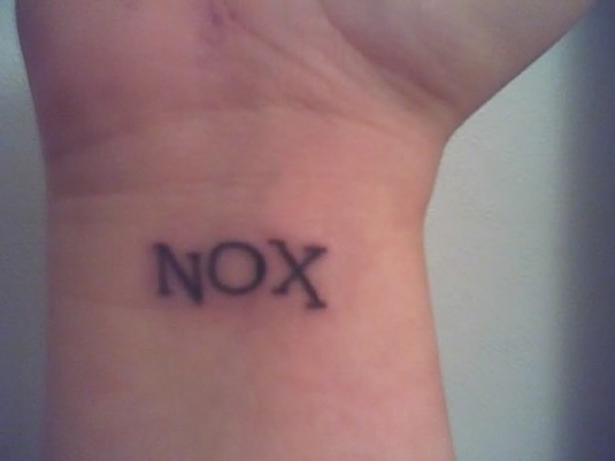 "Nox, Latin for ""nox"" meaning night"