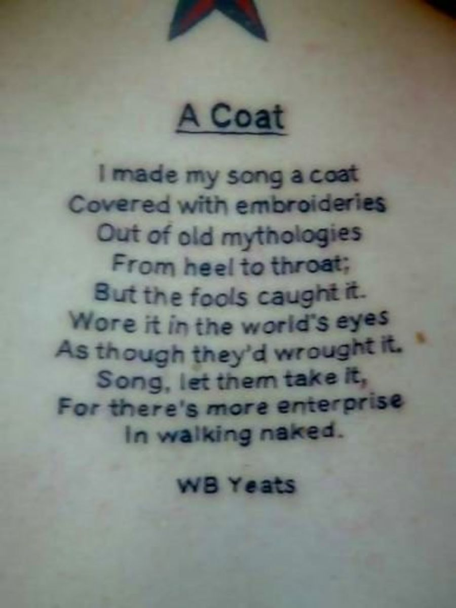 A Coat - by: W.B. Yeats