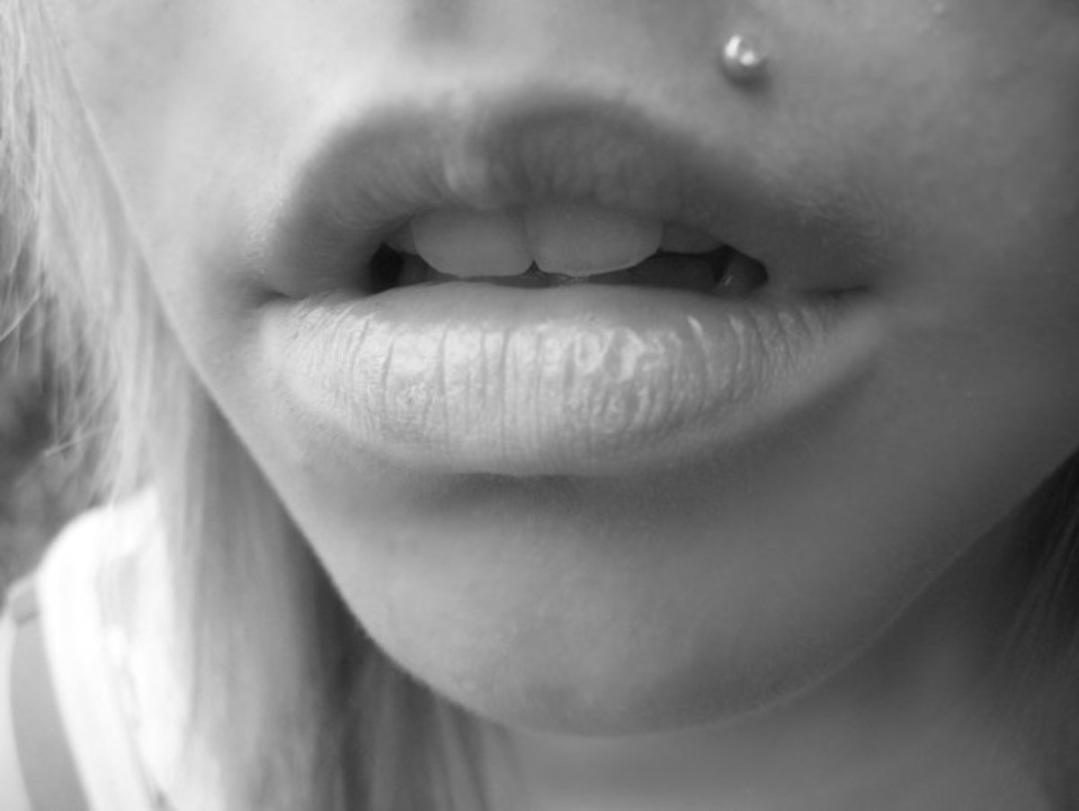 A Monroe or Madonna piercing is placed in the spots where Marilyn Monroe had and Madonna has her famous beauty mark.