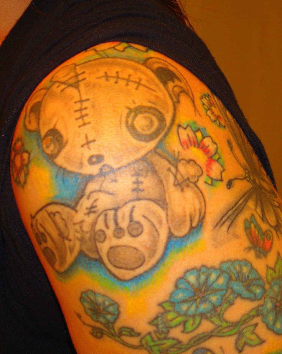 168e4736b How I Designed and Built My Sleeve Tattoo, Piece by Piece | TatRing