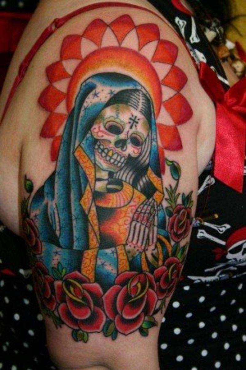 Tattoo to honor Maria.