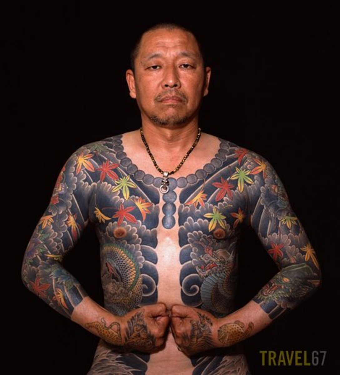 Japanese Body Tattoo