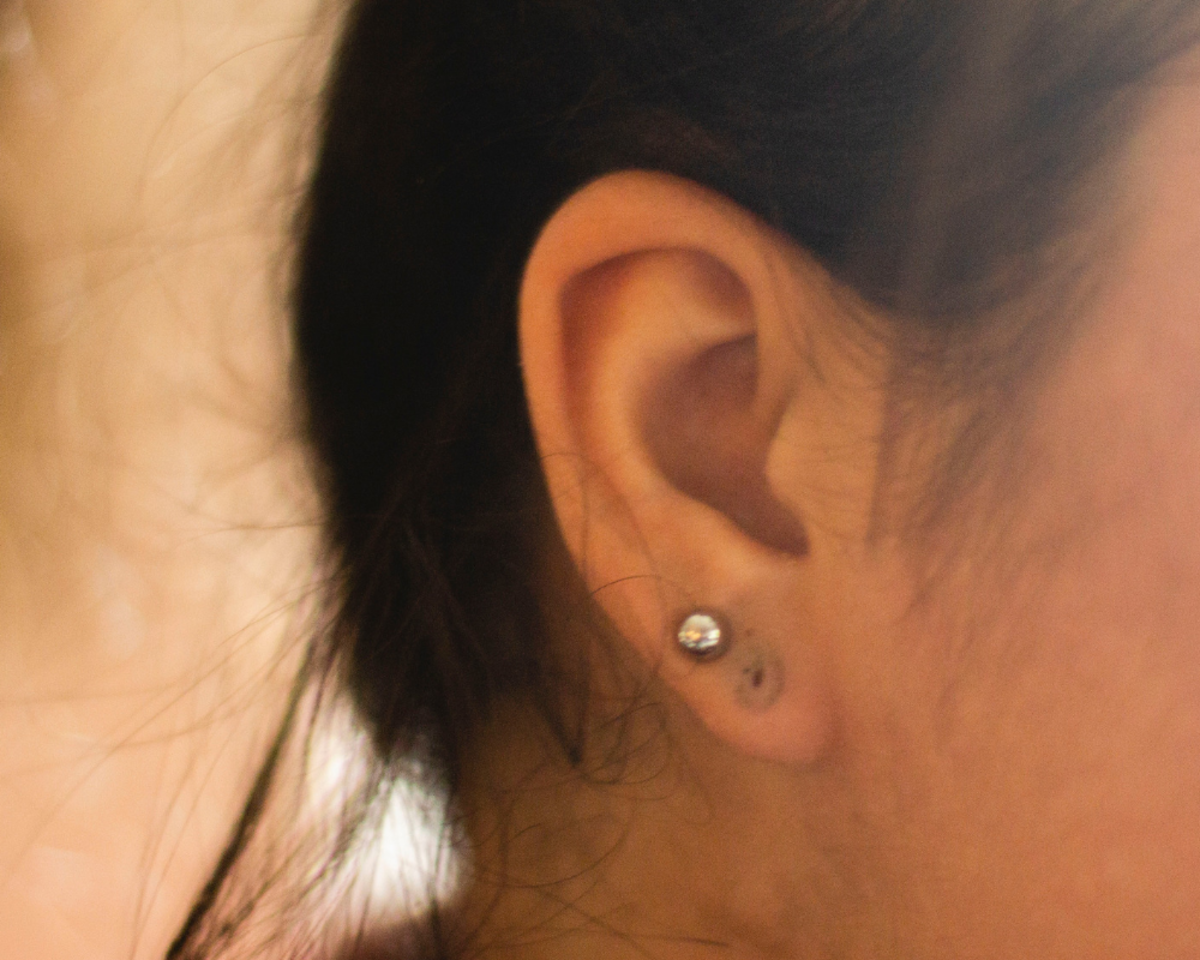 Oxidization from improper jewelry can make your piercing look gray or tarnished.