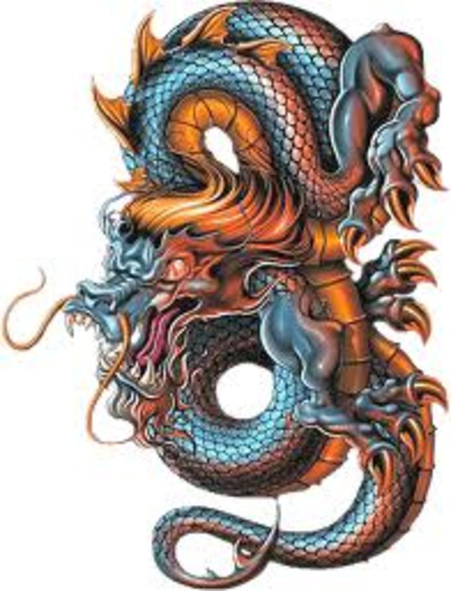 Dragon Tattoo Ideas, History, and Meaning: Chinese and Japanese