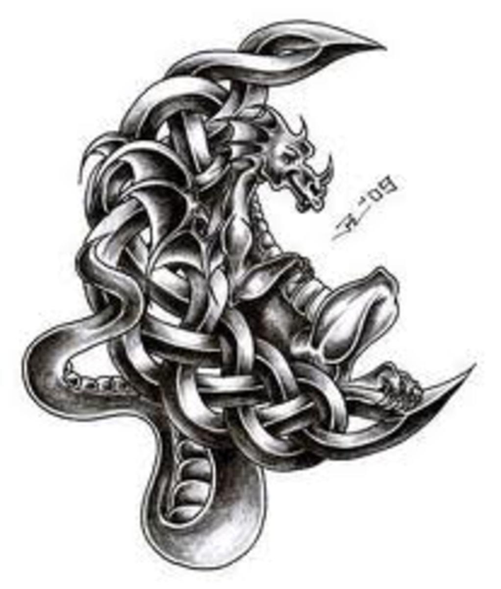 idei-dlya-tatuirovok - Идеи татуировкой дракона, История и смысл: китайский и японский дизайн -  - фото