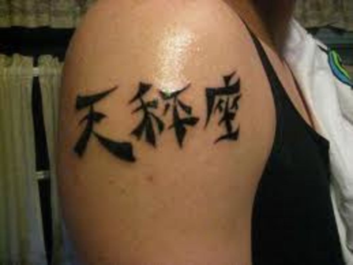 This tattoo is of the Japanses zodiac.