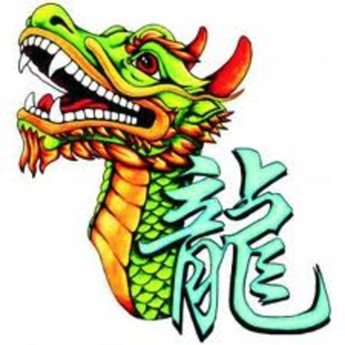 The dragon is part of the Chinese zodiac.