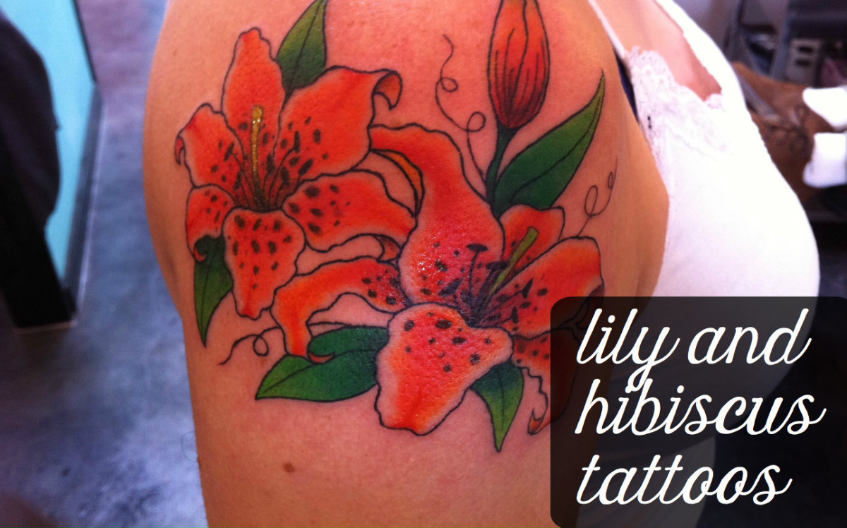 Hawaiian and lily flower tattoo designs tatring for Hawaiian flower tattoos meaning