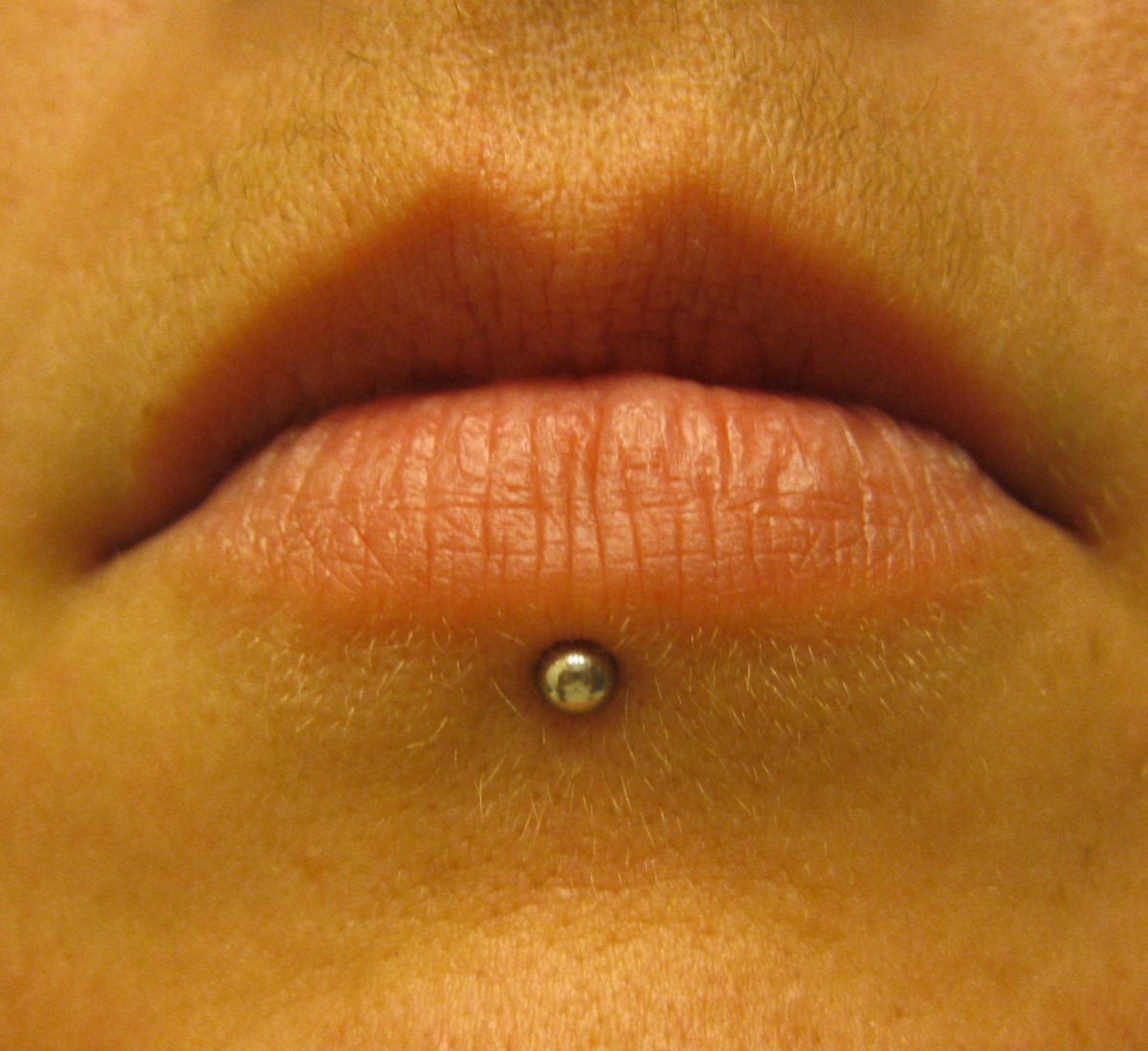 My lip was one of the least painful piercings.