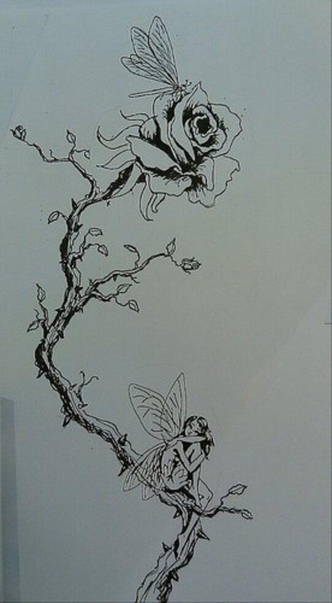 idei-dlya-tatuirovok - Милые и сладкие или темные и коварные сказочные идеи татуировки -  - фото