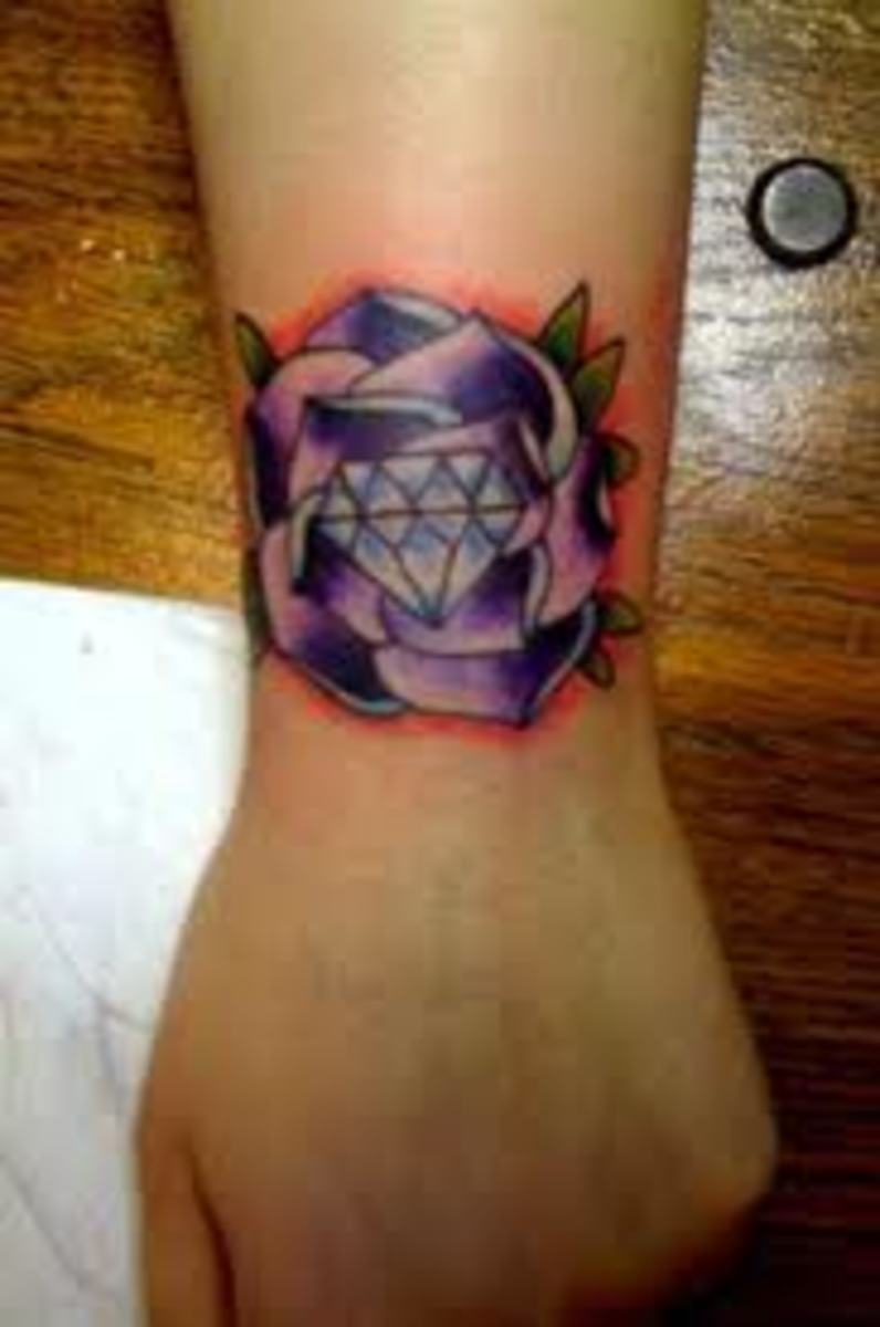 Diamond Tattoos: Ideas, Meanings, and Designs | TatRing