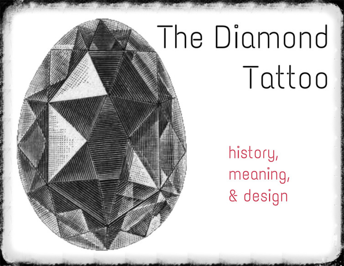 Diamond Tattoos: Ideas, Meanings, and Designs