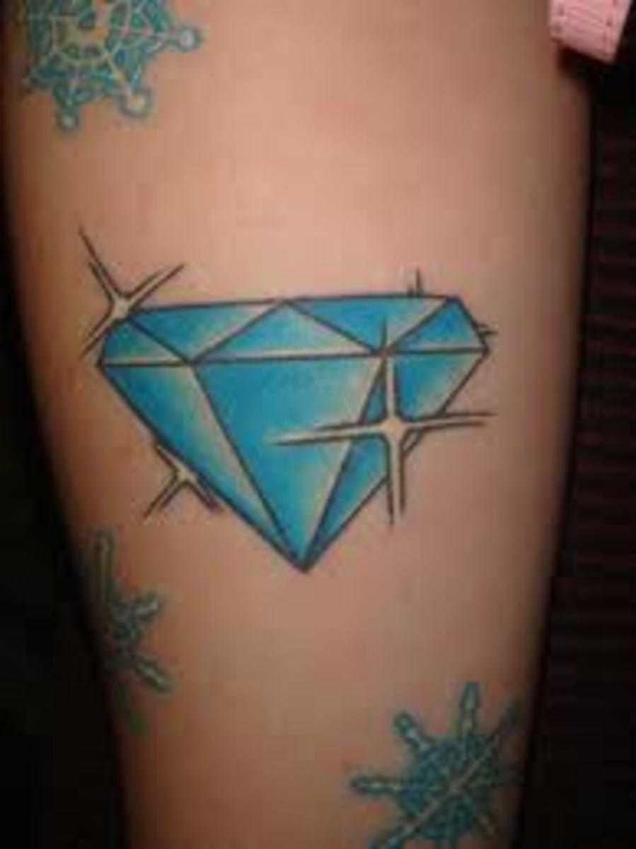 diamonds tattoos designs - photo #21