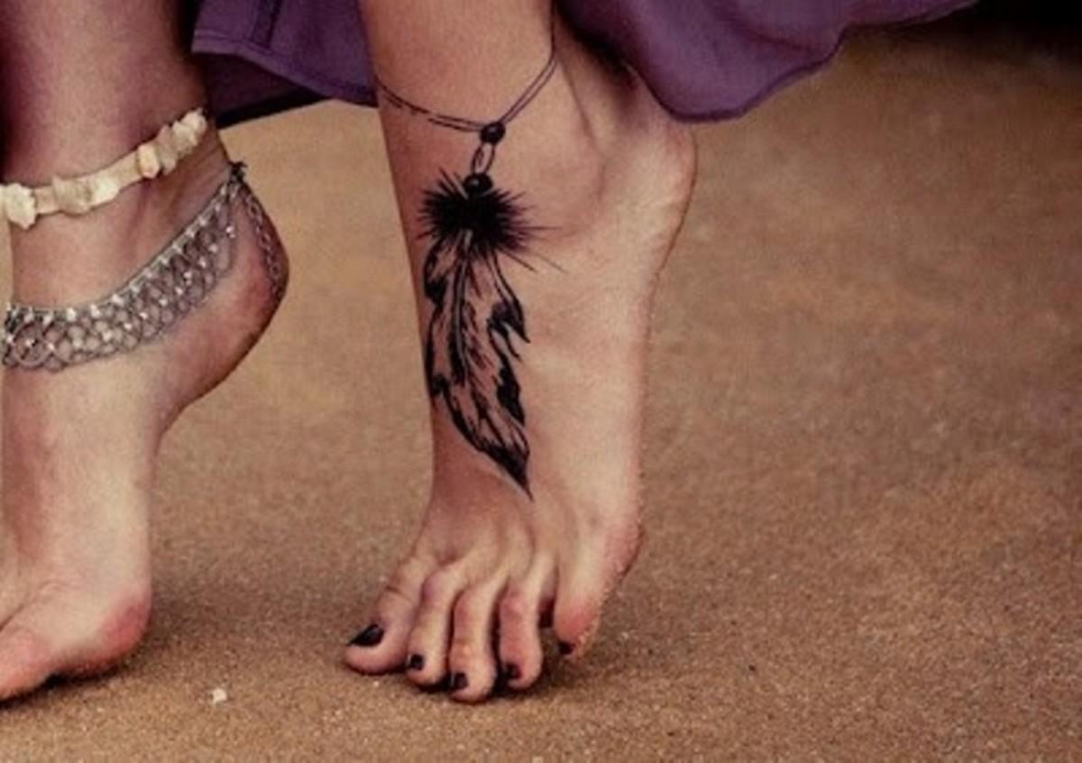idei-dlya-tatuirovok - Перо татуировки: эскизы, идеи и смыслы -  - фото