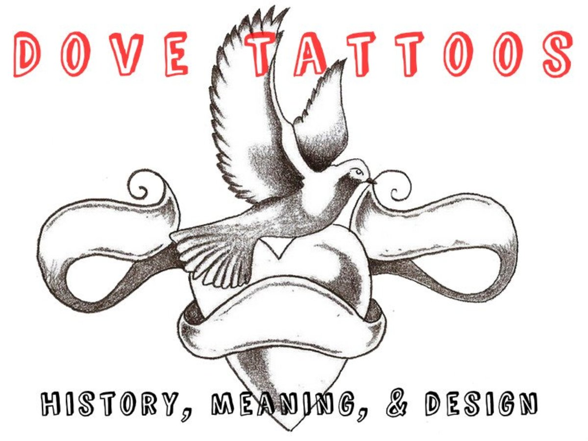 Dove Tattoos: History, Meaning, & Design