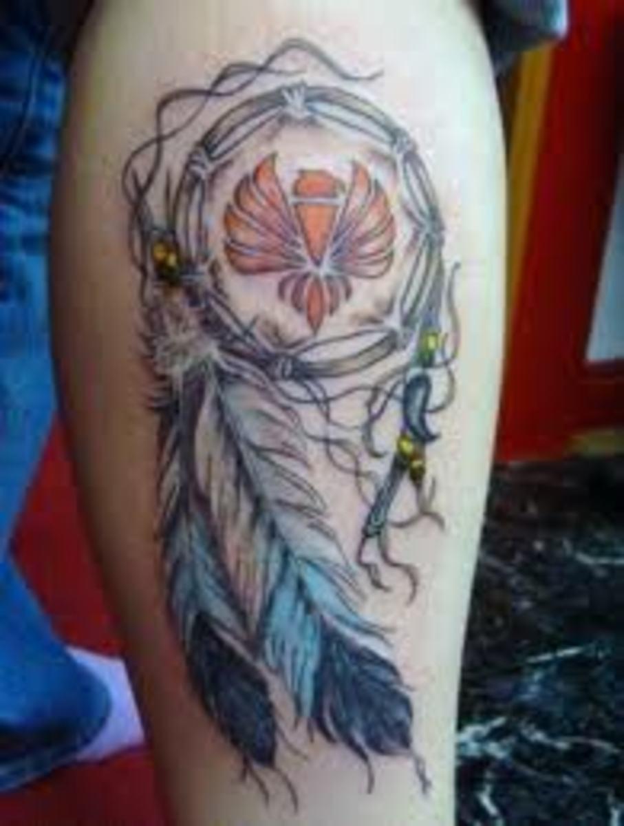 idei-dlya-tatuirovok - Что Делать Ловец Снов Татуировки Представляют? -  - фото