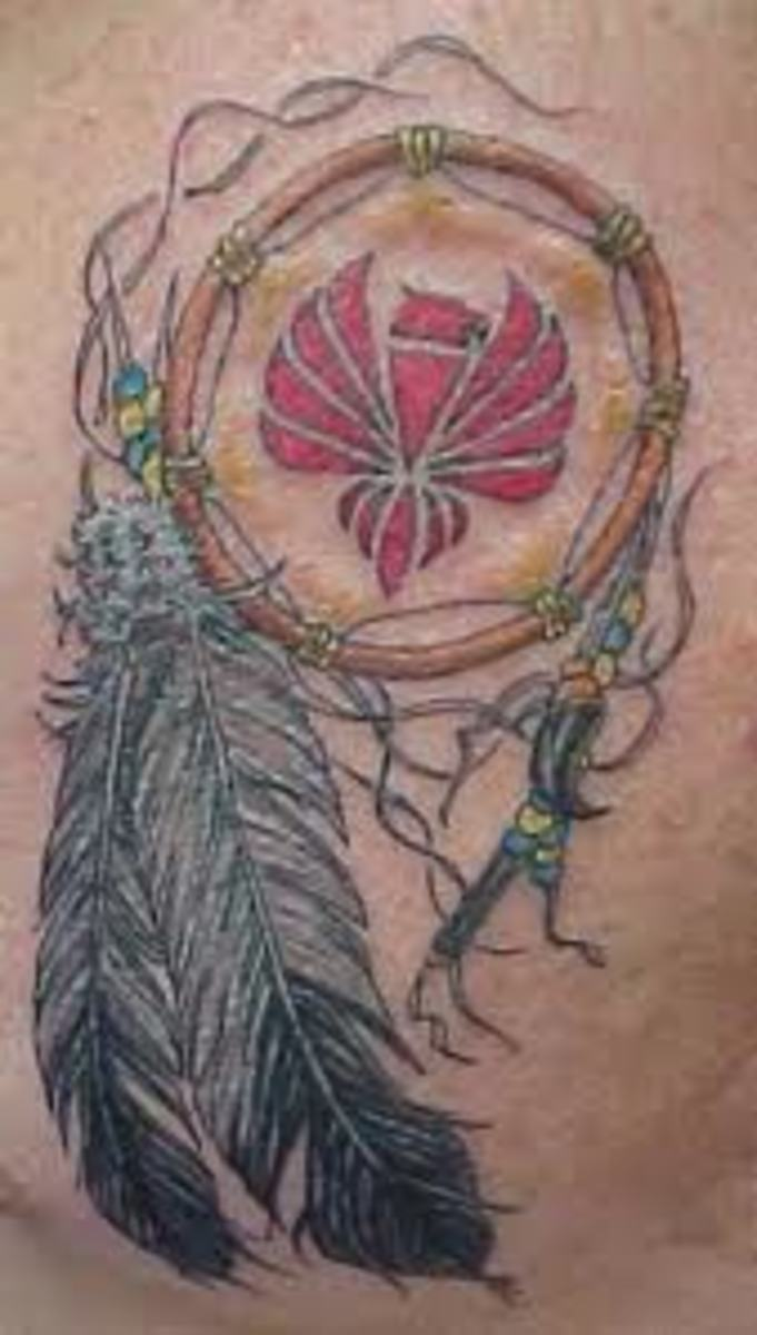 great dreamcatcher tattoos for men and women native