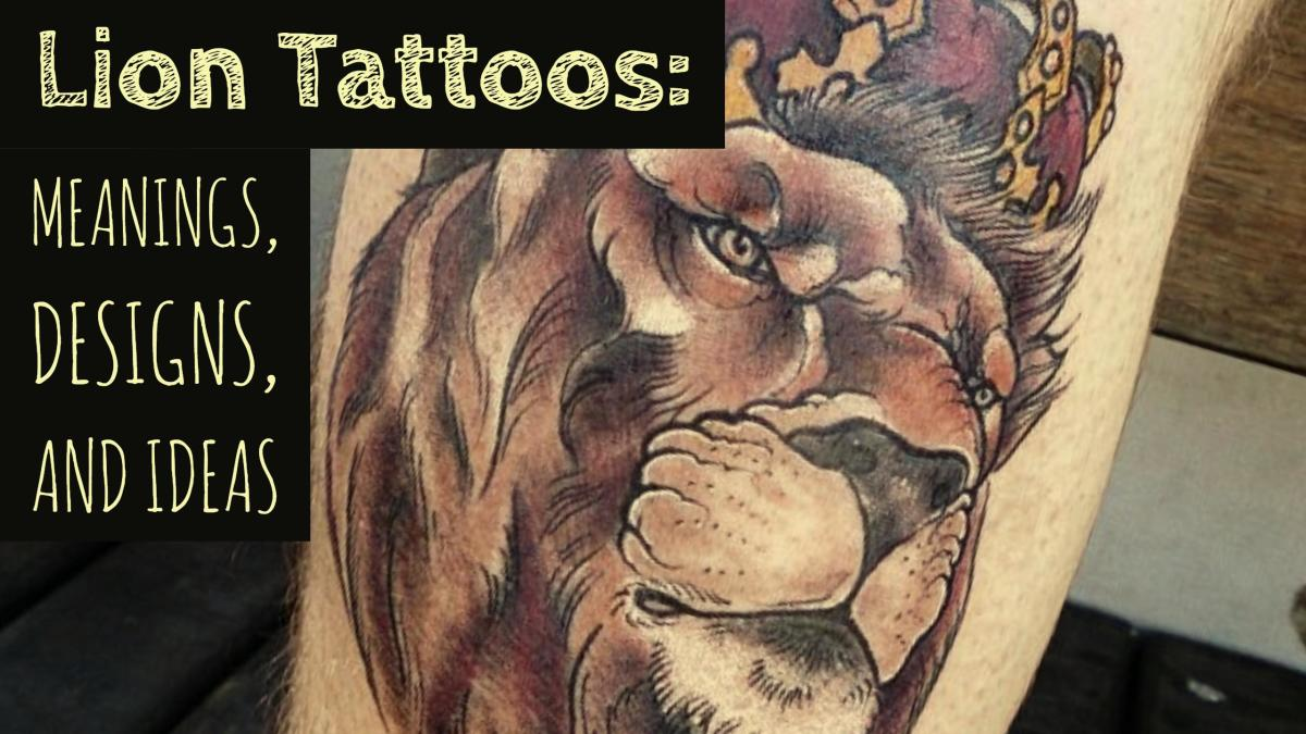 ec92562b39cff Lion Tattoos: Meanings, Designs, and Ideas | TatRing
