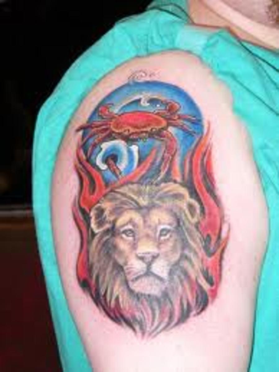idei-dlya-tatuirovok - Лев татуировки: значение, эскизы и идеи -  - фото