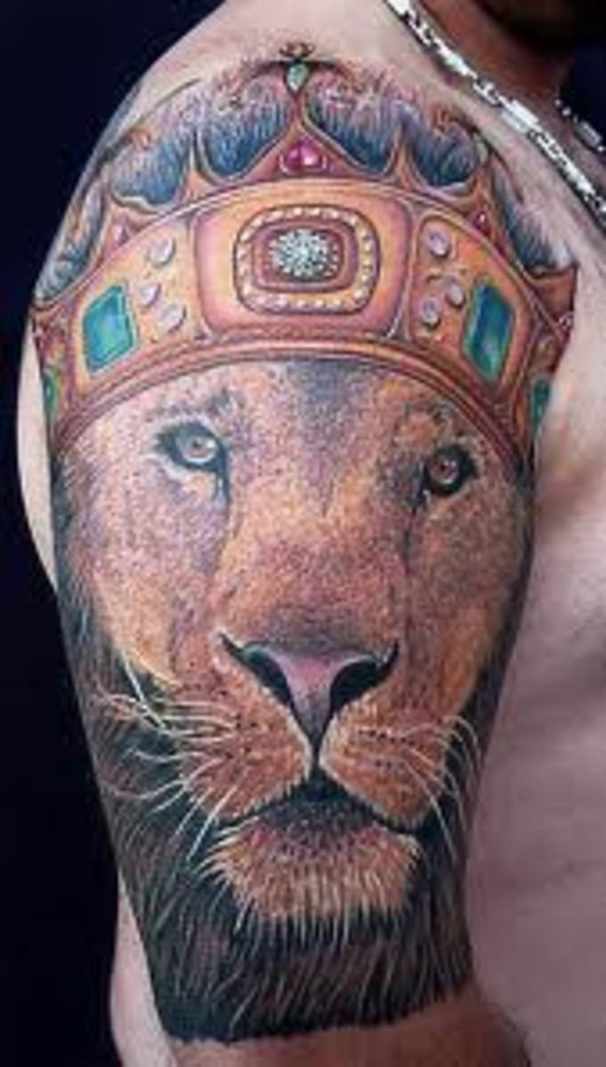 lion tattoos meanings designs and ideas tatring. Black Bedroom Furniture Sets. Home Design Ideas