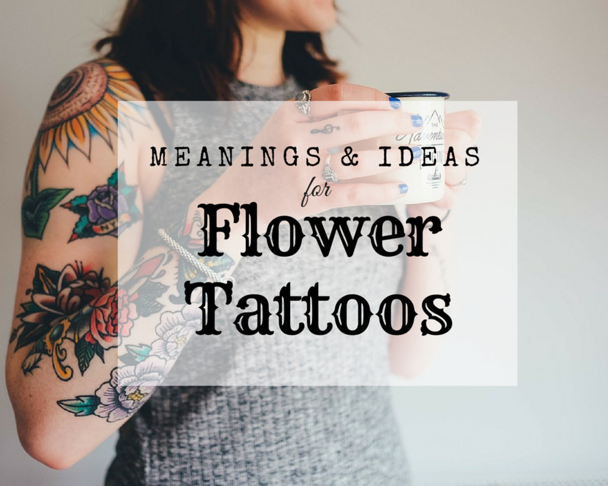 16ed6a56c Are you considering getting a tattoo? Discover the different meanings of  flowers.