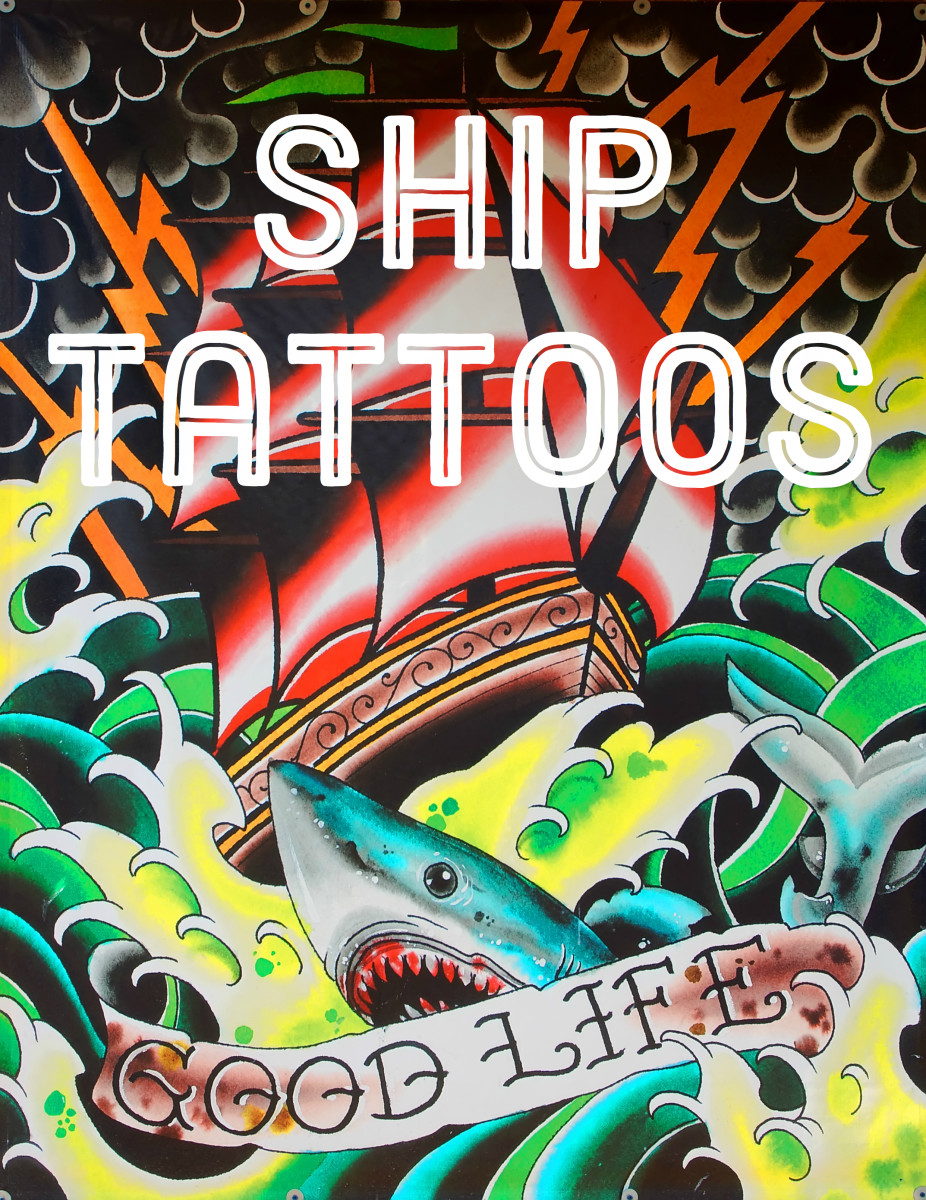 Boat and Ship Tattoos