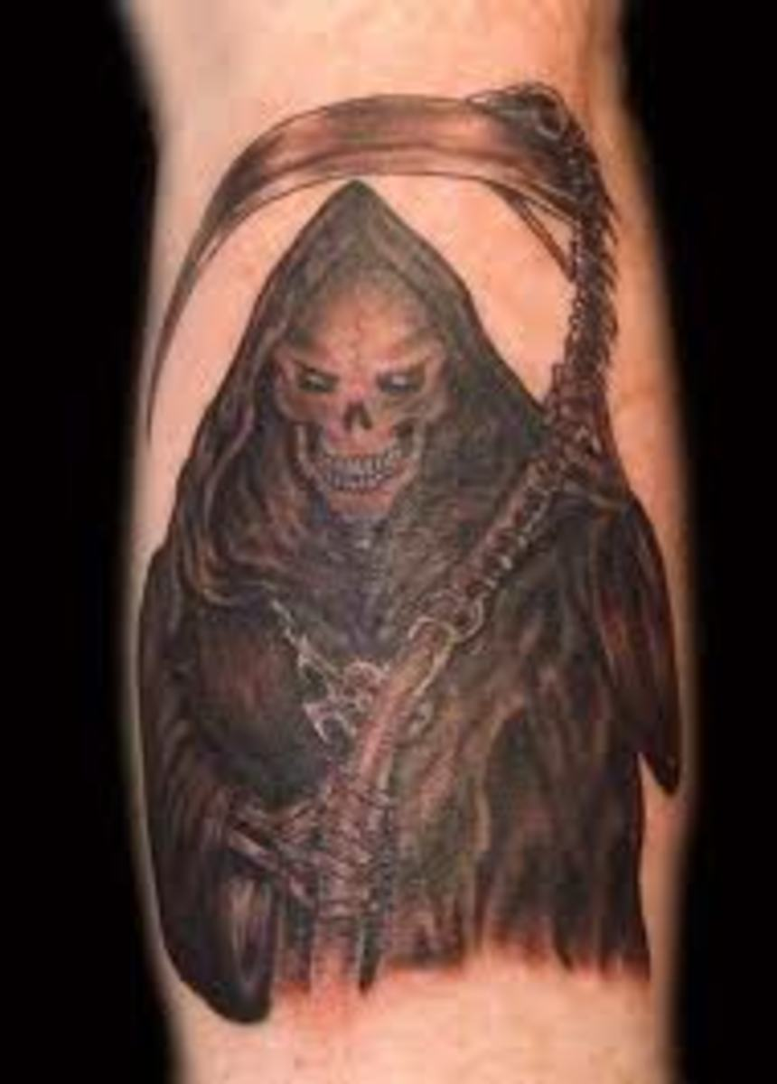 Title: Grim Reaper Tattoo Designs, Ideas, and Meanings
