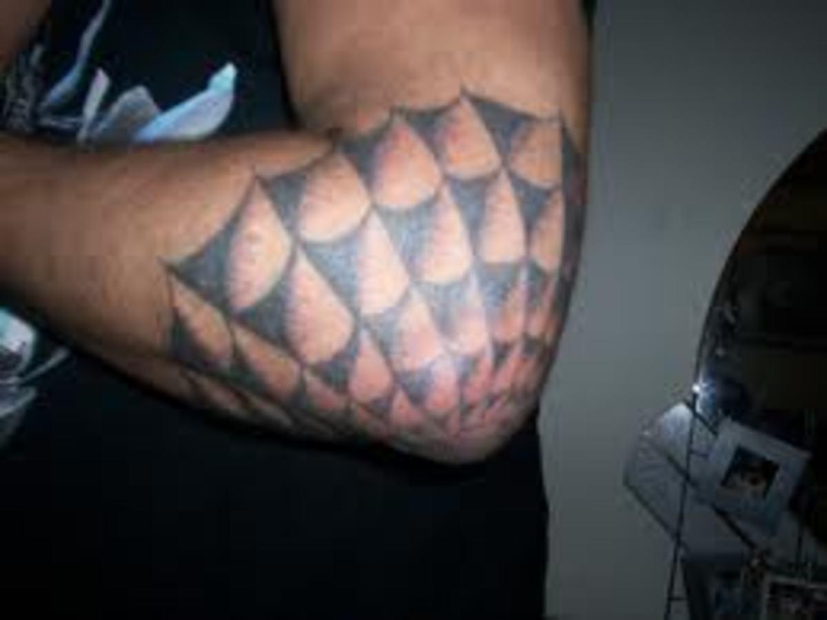 Web on bent elbow