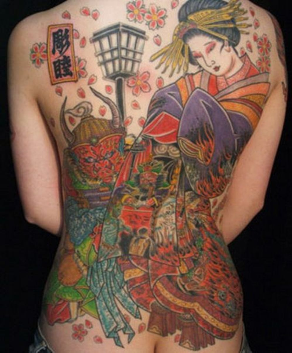 Geisha Tattoo Ideas Designs And Meanings Tatring